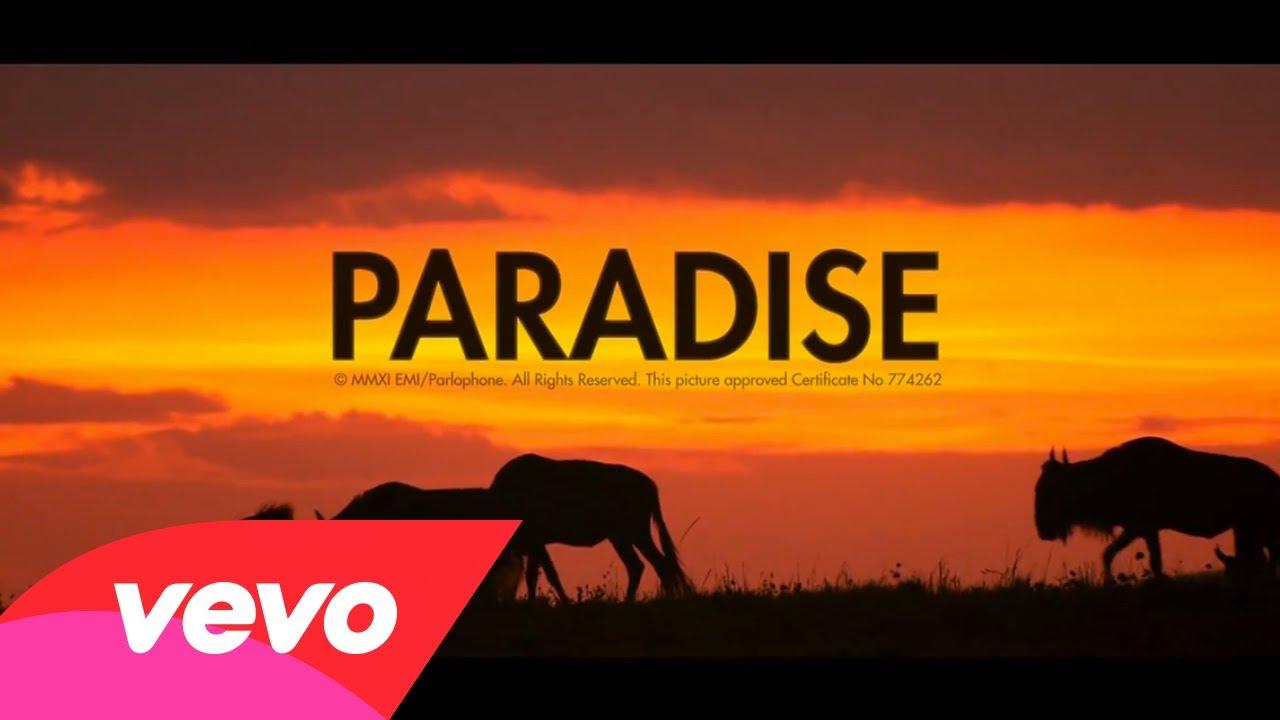 клип Coldplay - Paradise